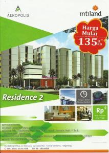 Brosur Aeropolis Residence 2