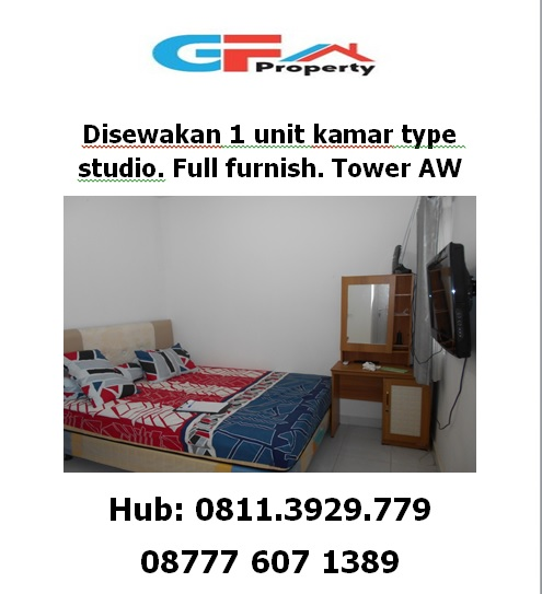 Di sewakan STD FULL FURNISH TOWER AW