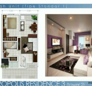 Show Unit Aeropolis Crystal Residence